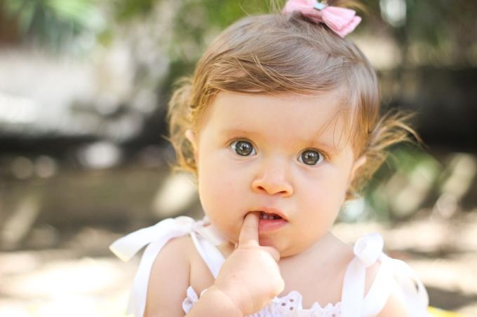 foto de bebê
